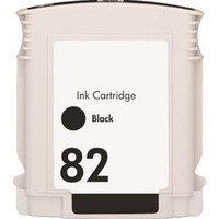 Compatible HP CH565A (HP 82) Black Ink Cartridge