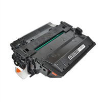 Remanufactured HP CE255X (HP 55X) High Yield Black Laser Toner Cartridge - Replacement Toner for HP LaserJet P3015