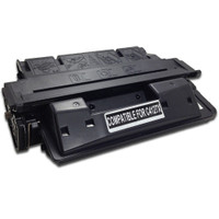 Remanufactured HP C4127X (HP 27X) High Yield Black Laser Toner Cartridge - Replacement Toner for LaserJet 4000, 4050