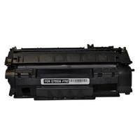 Compatible HP Q7553A (HP 53A) Black Laser Toner Cartridge - Replacement Toner for LaserJet P2015, M2727
