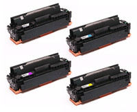 Canon 045H Compatible High Yield Toner Cartridges Set