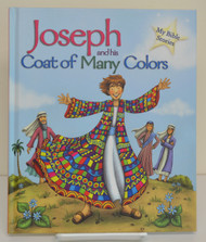 "Joseph and his Coat of Many Colors, 23 page hb book, 9"" x 7.5"""