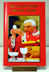 "My Latin Mass Prayer Book -  Pamphlet 6"" x 4"" 96 pages"