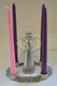 4 weeks of advent wreath w/candles, angel bell