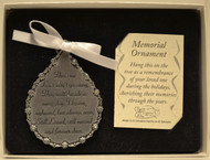 Memorial Ornament - gender neutral