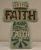 Faith Cross, fonts