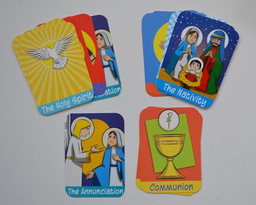 Catholic Memo-Match Cards