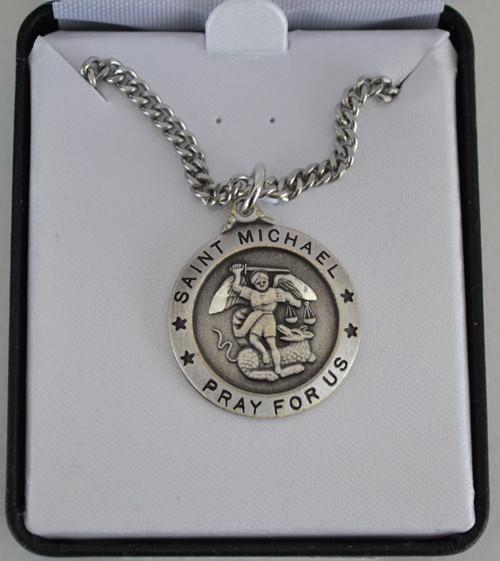 Large St Michael Medal