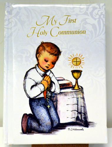 1st Communion prayer book, Berta Hummel illustrations, boy