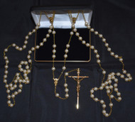 Ivory Pearl Lasso rosary, 1