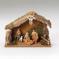 5 piece Fontanini Nativity set