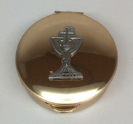 Chalice and cross pyx