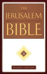 The Jerusalem Bible, Reader's Edition, Imprimatur of the Roman Catholic Church, HB