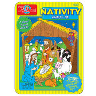 Nativity magnetic tin