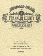 1919 Standard Atlas of Franklin County, Missouri