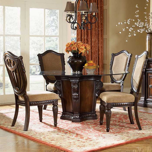 Louis 16th round table magnolia hall for Table 6 in as 3725