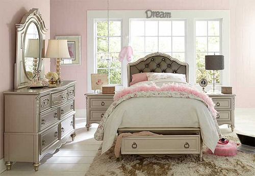 Platinum Princess Storage Bed