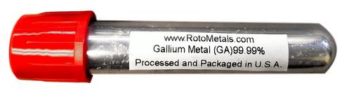 20 Grams Element GA Metal Ingot 99.99%