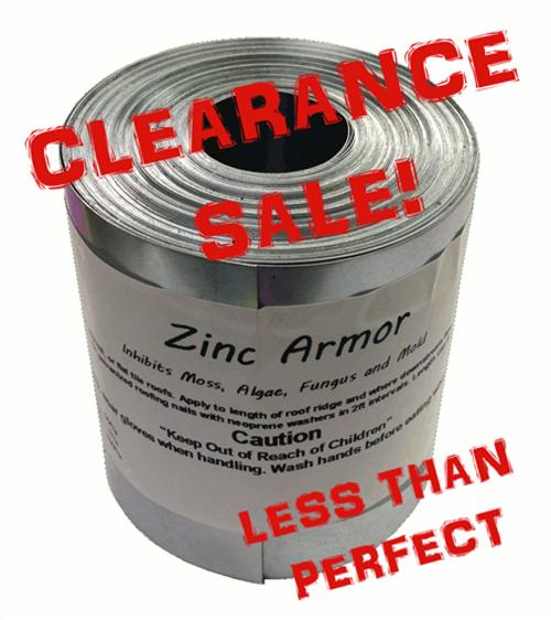 Discounted Zincarmor 3 Quot Zinc Strip 50 Ft Prevent Algae