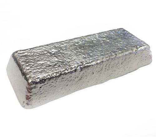 Alloy R92 Pewter Casting Ingot 92% Tin, 8% Antimony - 466F - 566F