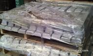 Pallet Lead Ingots (99.9%) 500 pounds $1.55 lbs