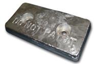 "AHC-10 Aluminum Anode 6"" x 12"" x 1.25"""