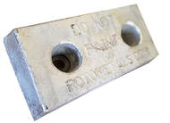 "AHC-20 Aluminum Anode 2.5"" x 6"" x 12"""