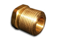 "COR-IN Plug 1/2"" NPT Brass"