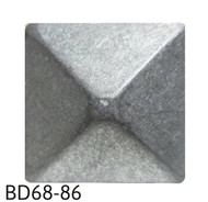 "Pewter Pyramid Nail/Clavos Head - Head Size: 3/4"" Nail Length: 5/8"" - 20/box"