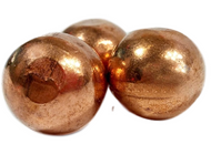 Copper Plating Balls 99.99% Min oxy-free - 1 pound
