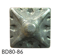 """Square Shaped Carved Nail/Clavos Head - Head Size: 9/16"""" Nail Length: 5/8"""" - 25/box"""