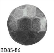 """Hammered Pewter Circular Nail/Clavos Head - Head Size: 7/16"""" Nail Length: 1/2"""" - 100/box"""