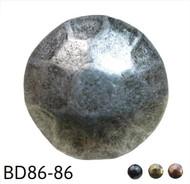 """Hammered Pewter Circular Nail/Clavos Head - Head Size: 5/8"""" Nail Length: 5/8"""" - 50 per box"""