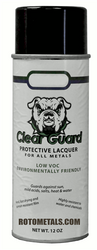 Sealer Clear Guard Spray Lacquer for Zinc - For Vertical Surfaces Only!