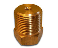 "GP-1000 1"" NPT Brass Plug Type Galvion"