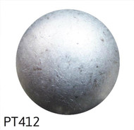 "Pewter High Dome Nail/Clavos Head - Head Size: 5/8"" Nail Length: 5/8"" - 50 per box"