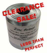 "Discounted ZincArmor 3"" Zinc Strip 50 ft Prevent Algae, + /-  3"""