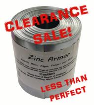"Discounted ZincArmor 3"" Zinc Strip 50 ft Prevent Algae, + /-  3"""
