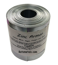 "ZincArmor  3"" Zinc Strip 50 ft Prevent Algae, Moss, Fungus & Mildew"