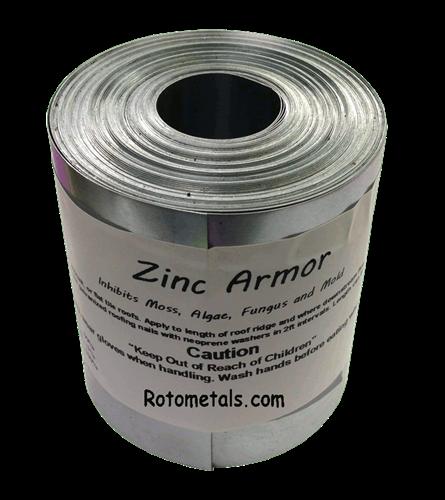 Zincarmor 3 Quot Zinc Strip 50 Ft Prevent Algae Moss Fungus