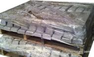 Pallet Antimony Lead Ingots 3-4% SB 1000 Pounds $1.59 per pound