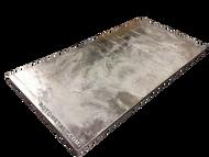 "Zinc Cast Plate  - 1"" x 24"" x 48"""