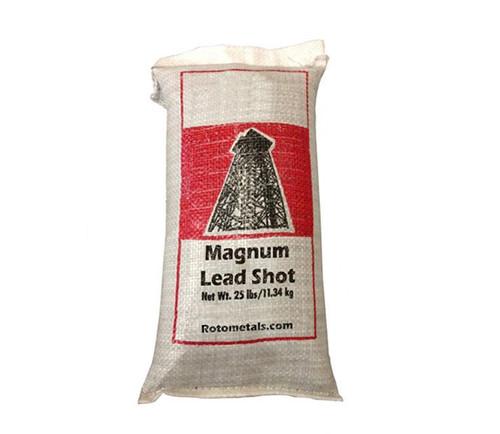 West Coast Magnum Lead Shot 25 Lbs Bag Rotometals