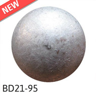 "Pewter High Dome -  Head Size:13/16"" Nail Length:5/8"" - 40 per box"