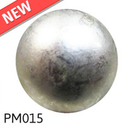 "Glazed Pewter High Dome - Head Size:3/8"" Nail Length:1/2"" - 1000 per box"