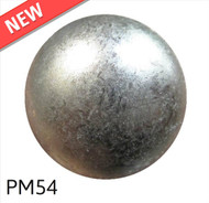 "Glazed Pewter Low Dome - Head Size:5/8"" Nail Length:5/8"" - 500 per box"