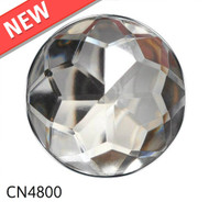"Crystal Nail with Nickel Trim Head Size: 1.2"" Nail Length - 3/4"" 20 per box"