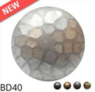 "Medium Dome Nail with Textured Detail - Head Size: 1.6"" Nail Length: 7/8"" - 25 per box"