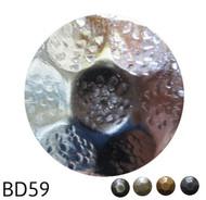 """Hammered Circular Nail - Head Size: 1"""" Nail Length: 5/8"""" - 50 per box"""