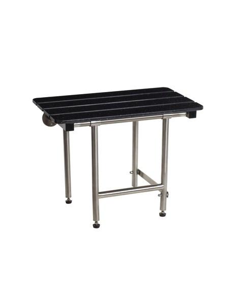 Optional teak bench material